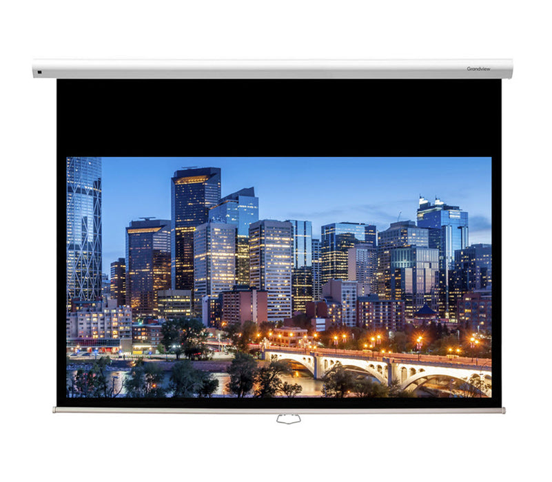 "Grandview GV-CMA100 |""Cyber"" manual projection screen - 100""- ratio 16:9"
