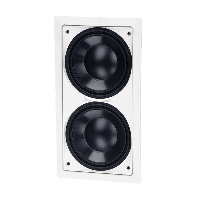 "Paradigm PCS-82SQ | In-wall subwoofer - 8"" - White - Each"