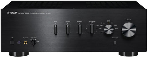 Yamaha A-S501B/2 ch integrated amplifier/black/front view/SONXPLUS BAX audio video