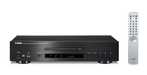 Yamaha CD-S700/CD player/black/front view with remote control/SONXPLUS BAX audio video