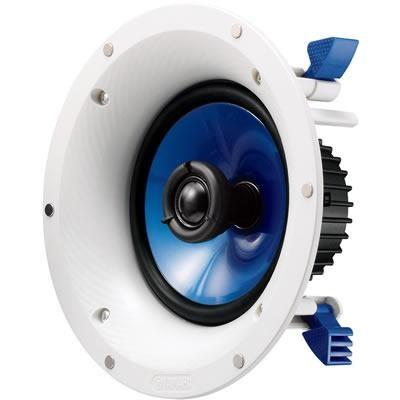 Yamaha NS-IC600/in-ceiling speaker/white/right diagonal front view/SONXPLUS BAX audio video