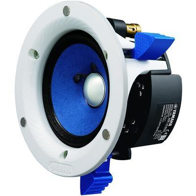 Yamaha NS-IC400/in-ceiling speaker/white/right diagonal front view/SONXPLUS BAX audio video