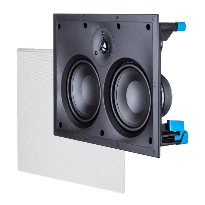 Paradigm Home H55-LCR - In-wall speaker - Black - Each