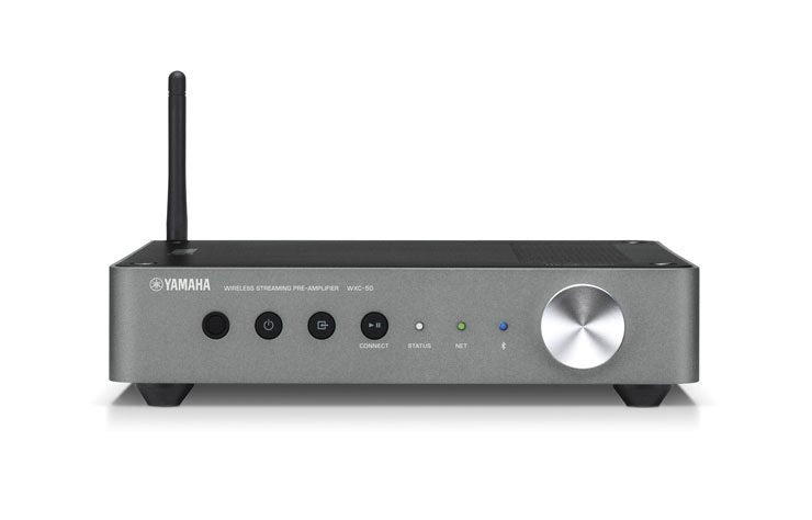 Yamaha WXC-50/Multi-room preamplifier/dark silver/front view/SONXPLUS BAX audio video