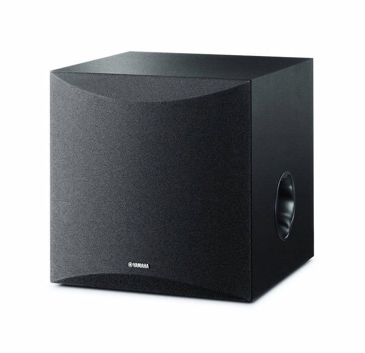 Yamaha NS-SW050B/Subwoofer/black/right diagonal front view/SONXPLUS BAX audio video