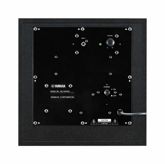 Yamaha NS-SW050B/Subwoofer/black/under view/SONXPLUS BAX audio video