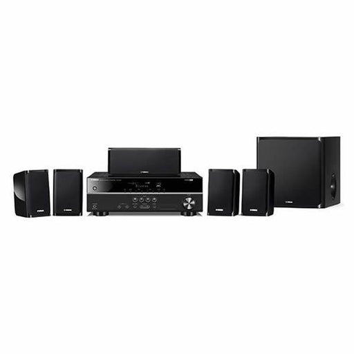 Yamaha YHT-1840B/5.1 Channel home theatre package/black/front view/SONXPLUS BAX audio video