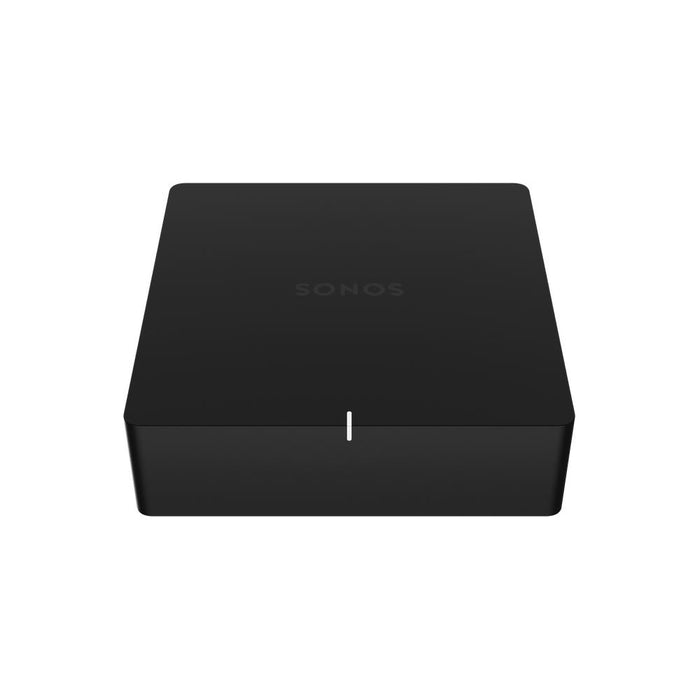 SONOS Port/Wifi audio network player/black/top view/SONXPLUS BAX audio video