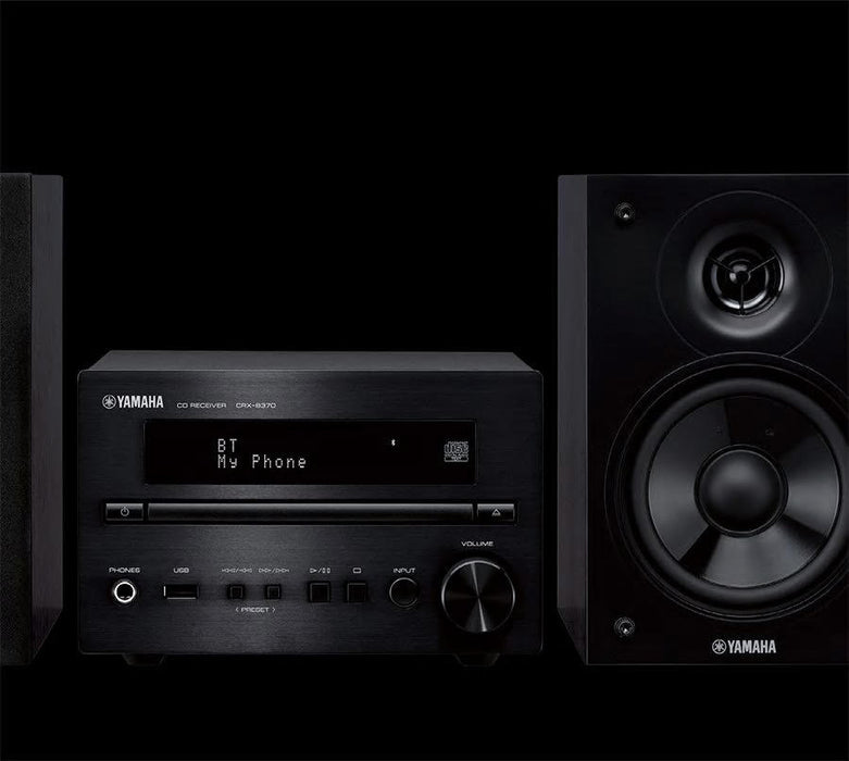 Yamaha MCR-B270/Hifi music system/black/front view /SONXPLUS BAX audio video