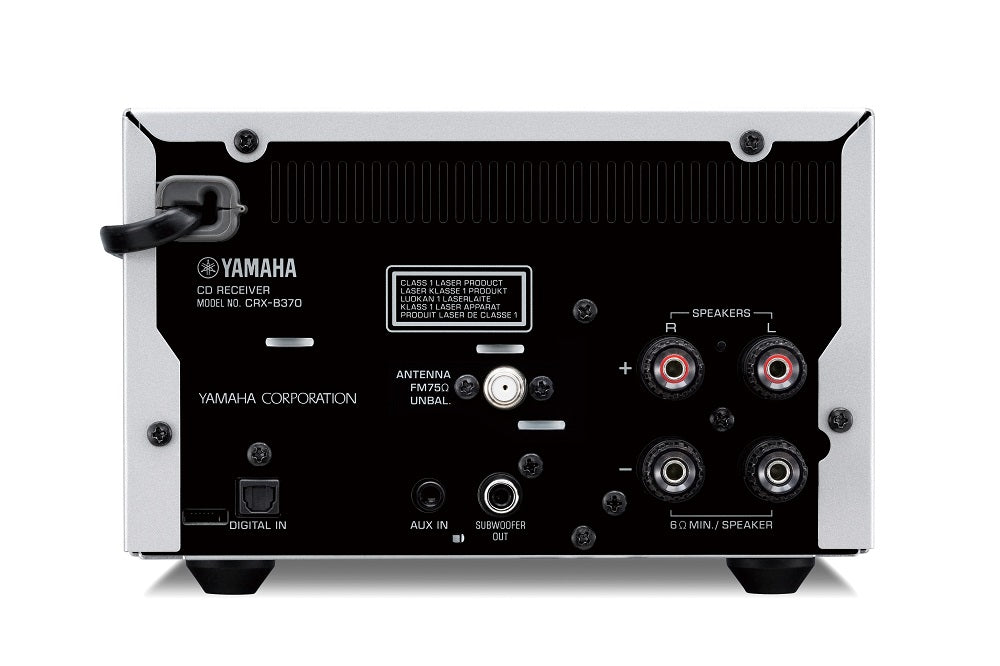 Yamaha MCR-B270/Hifi music system/black/back view /SONXPLUS BAX audio video