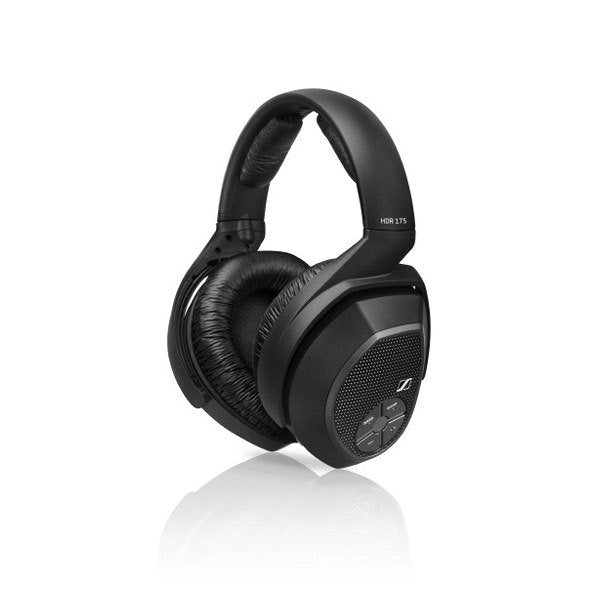 Sennheiser HDR 175 | Additionnal wireless headphones for RS 175 - Radio frequency - Black