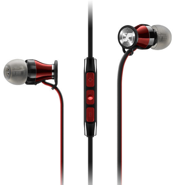 Sennheiser M2 IEG | Wireless in-ear headphones - Android - Bluetooth - Black -Red
