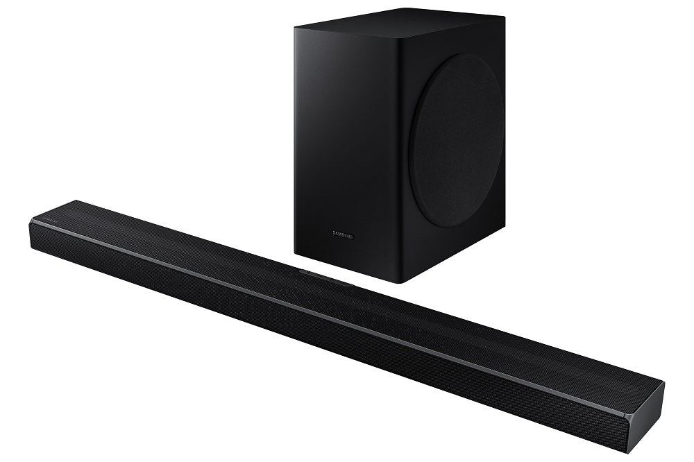 Samsung HW-Q60T Right diagonal front view | SONXPLUS BAX audio video