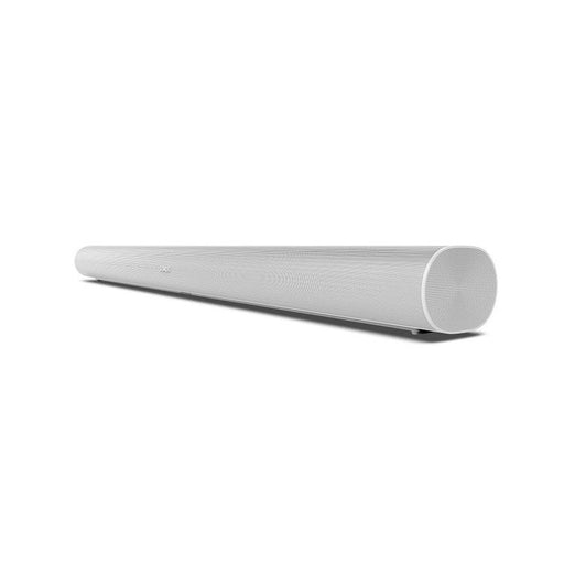 Sonos ARC smart sound bar/white/right diagonal front view/SONXPLUS BAX audio video