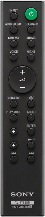 Sony HT-S100F Remote control view | SONXPLUS BAX audio video