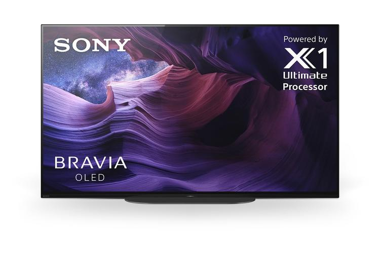 Sony XBR48A9S Front view | SONXPLUS BAX audio video