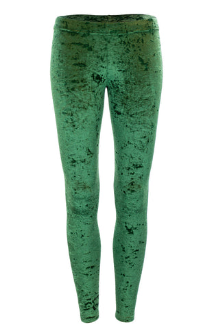 Green Crushed Velvet