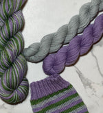 Load image into Gallery viewer, Merino Steel Sock - Marinière - Prairie