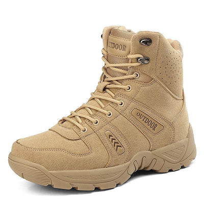 Outdoor Wear-resistant Anti-skid Anti-collision Toe Field Tactical Boots