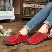 Women's Lightweight Summer Lace up Casual Shoes Flats