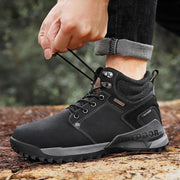Men Non-slip Hiking Shoes Lace Casual Outdoor Boots