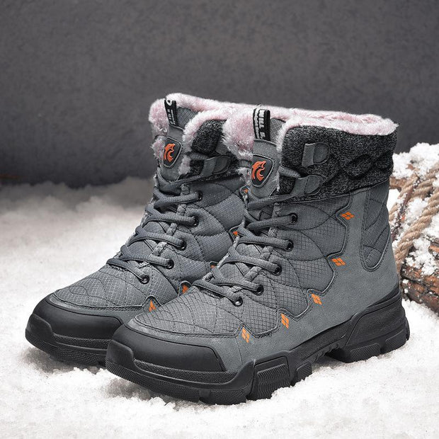 Outdoor Non Slip Waterproof And Warm Snow Boots