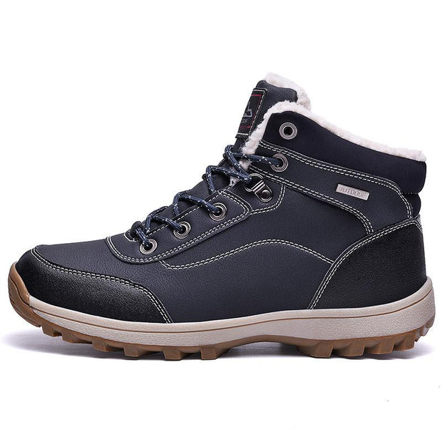Men's Warm And Thick Hiking Casual Shoes