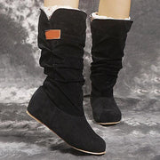 Women's Comfy Slouchy Faux Suede Boots