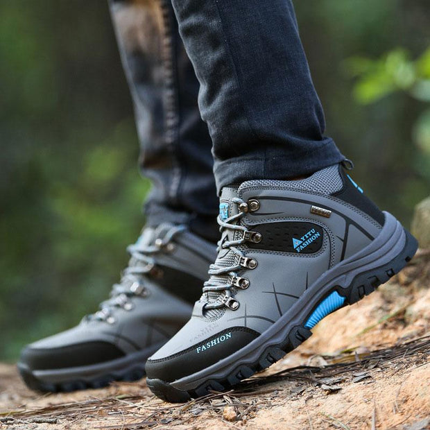 Men's Outdoor Hiking High-top Sneakers