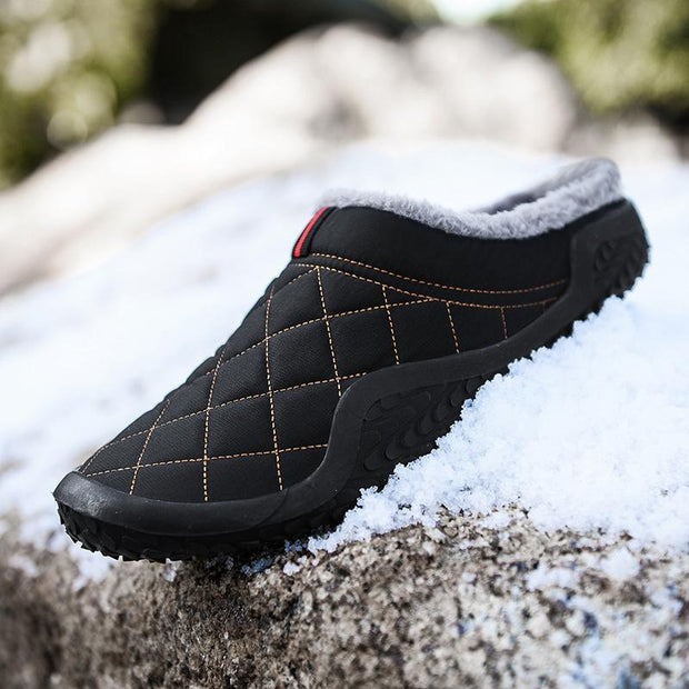 Men's Winter Home Slippers Warm Cotton Shoes