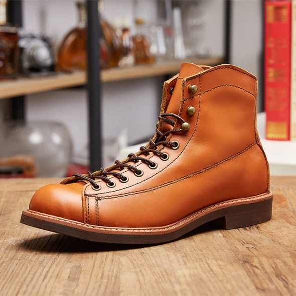 Genuine Leather motorcycle boots