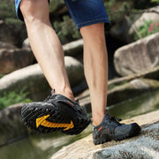 Men's Breathable Mesh Casual Light Outdoor Hiking Water Shoes(Please Go Up 1 Size)