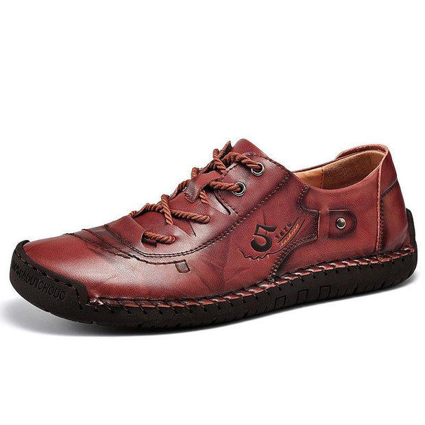 Men's Handmade Leather Casual Shoes