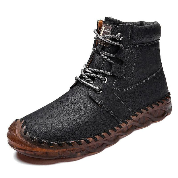 Men's Handmade Non-slip Wear-resistant Casual Boots