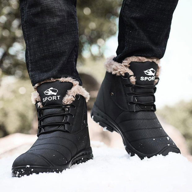 Men's Winter Warm Thick Anti Skid Warm High Boots