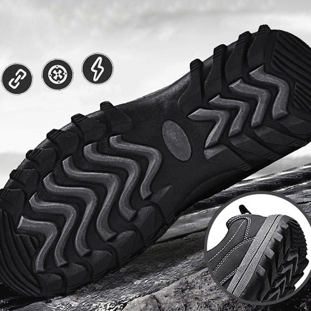 Men Casual Breathable Non-slip Outdoor Hiking Shoes