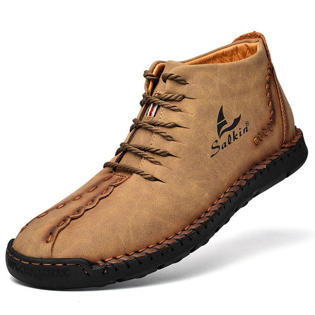 Men's Outdoor Casual Handmade Short Boots