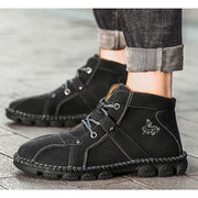 Men's Handmade Casual Non-slip Wear-resistant High-top Boots