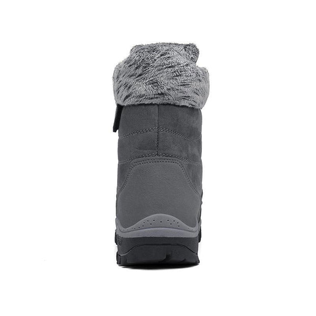 Men's Plus Velvet Non-slip Winter Snow High Boots