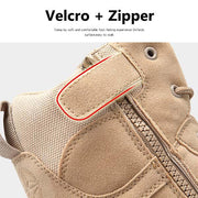 Men Outdoor Slip Resistant Hiking Ankle Desert Boots