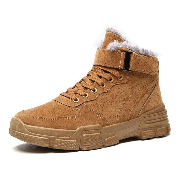 Men'S High-Top British Style Retro Shoes
