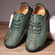 Men Retro Casual Handmade Leather Shoes