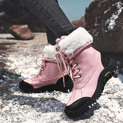 Women's Casual Warm Thick High Top Boots