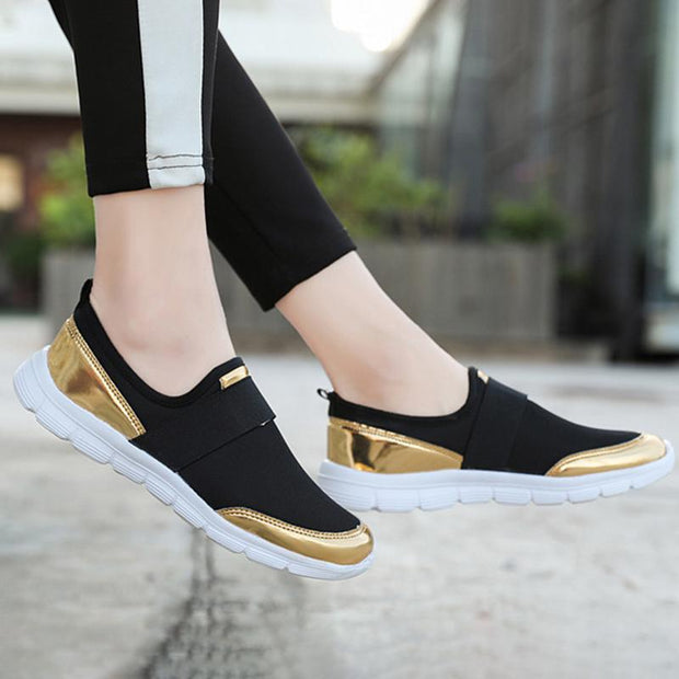 Women Shoes Slip On Casual Lightweight Platform Sneakers