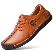 Men's Handmade Classic leather Casual Leather Loafers Comfortable Shoes