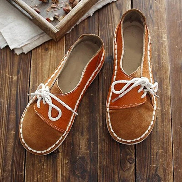 Women's Casual Round Toe Suede Shoes