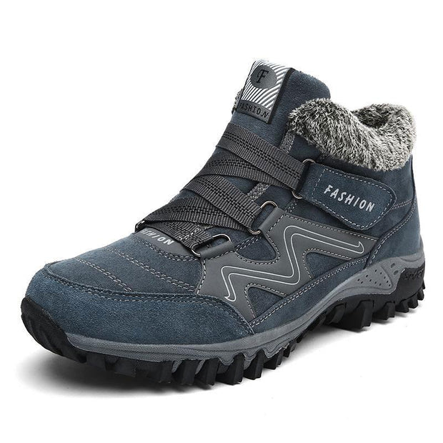 Men's Cotton Plus Velvet Outdoor Hiking Boots