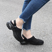 Women's Medium-heeled Casual Sandals Slippers( FREE GIFT-Phone Bag )