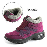 Women's Thermal Villi Slip Resistant Wide Boots