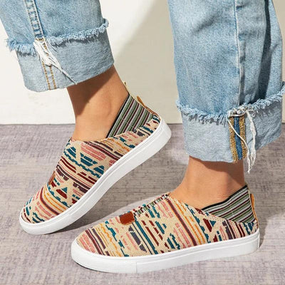 Women's Flat Large Canvas Casual Shoes